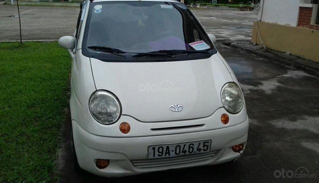 Bán Daewoo Matiz đời 2004, màu bạc, xe nhập