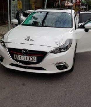 Bán Mazda 3 sản xuất 2016, màu trắng như mới, 570tr