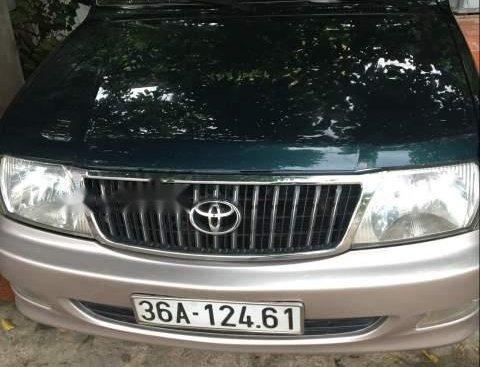 Cần bán gấp Toyota Zace GL đời 2004, xe nhập, một chủ xài từ đầu