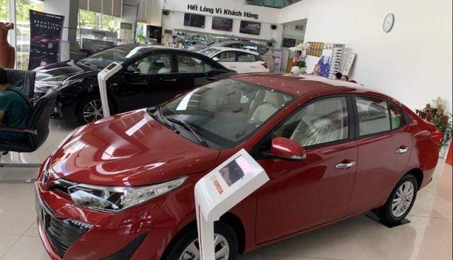 Bán xe Toyota Vios đời 2019, màu đỏ, 555tr