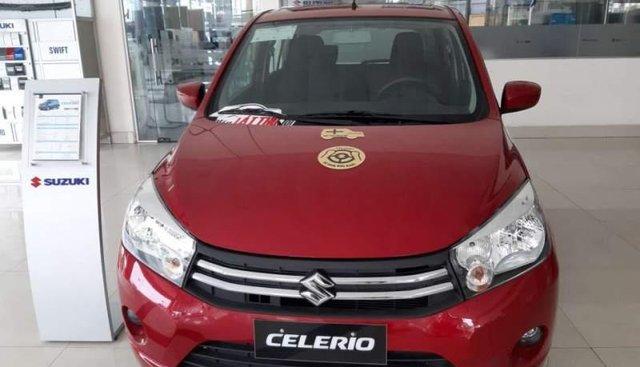 Bán Suzuki Celerio đời 2019, màu đỏ, nhập khẩu