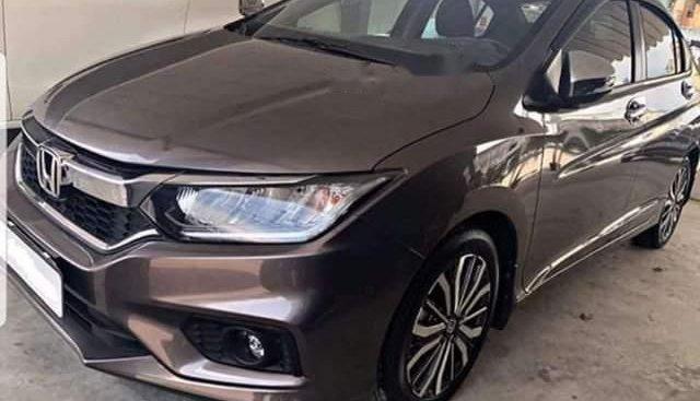 Bán lại xe Honda City đời 2017, màu nâu như mới