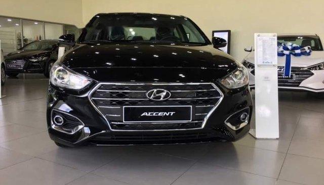 Bán Hyundai Accent 2019, màu đen, xe nhập