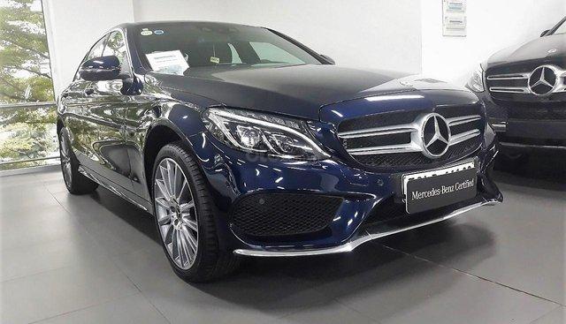 Bán Mercedes-Benz C300 cũ AMG 2017, lướt 30 km, chính hãng giao ngay