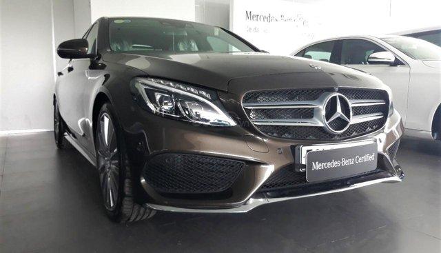 Bán Mercedes-Benz C300 cũ 2017 chính hãng, bán gấp giá tốt tháng 7 ÂL