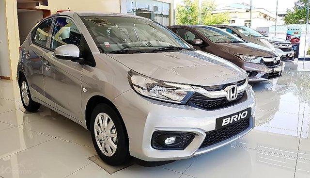 Cần bán Honda Brio G sản xuất 2019, màu bạc, nhập khẩu nguyên chiếc, giá chỉ 418 triệu