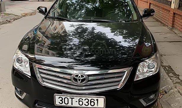 Bán Toyota Camry đời 2009, màu đen, đăng ký 2009, odo 75000 km