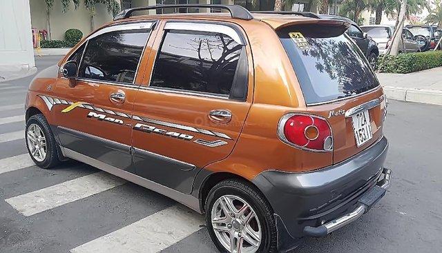 Bán Daewoo Matiz màu nâu, đời 2002, xe nhà sử dụng