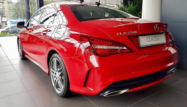 Bán xe Mercedes CLA 250 đời 2019, màu đỏ, nhập khẩu