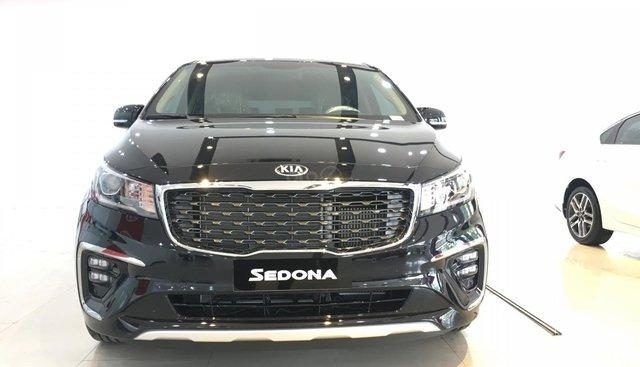 Cần bán Kia Sedona Luxury G sản xuất 2019, màu đen