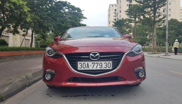 [Tín Thành Auto] Bán Mazda 3 2.0AT Sedan 2015, màu đỏ, xe rất mới
