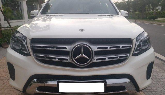 Bán Mercedes GLS400 4 Matic màu trắng sản xuất 12/2017, nhập Mỹ, biển Hà Nội