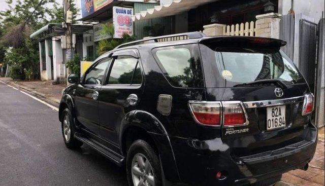 Bán Toyota Fortuner năm sản xuất 2011, màu đen