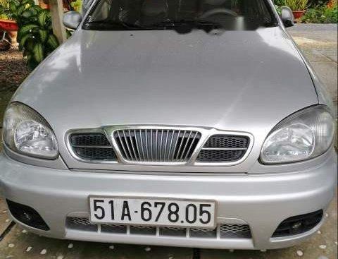 Bán Daewoo Lanos MT đời 2004, màu bạc, xe nhập