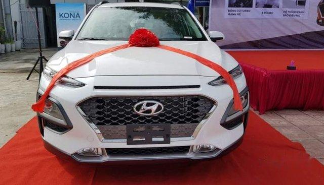 Cần bán xe Hyundai Kona đời 2019, màu trắng giá cạnh tranh