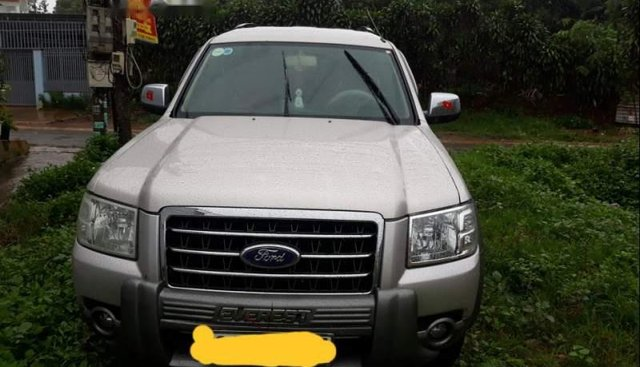Bán Ford Everest sản xuất năm 2008, màu bạc, nhập khẩu