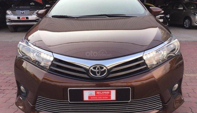 Corolla Altis 2.0V 2014, phong cách thể thao, cực chất, giá cả còn thương lượng