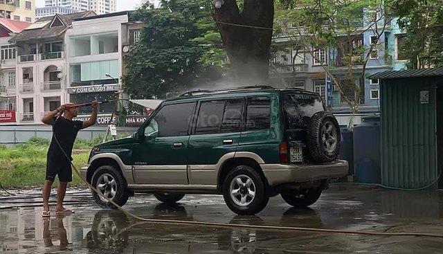Bán Suzuki Vitara màu xanh, xe đẹp, vừa thay côn, lốp mới