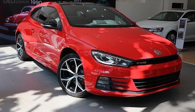 Cần bán Volkswagen Scirocco GTS 2.0 sản xuất 2017, màu đỏ, nhập khẩu nguyên chiếc