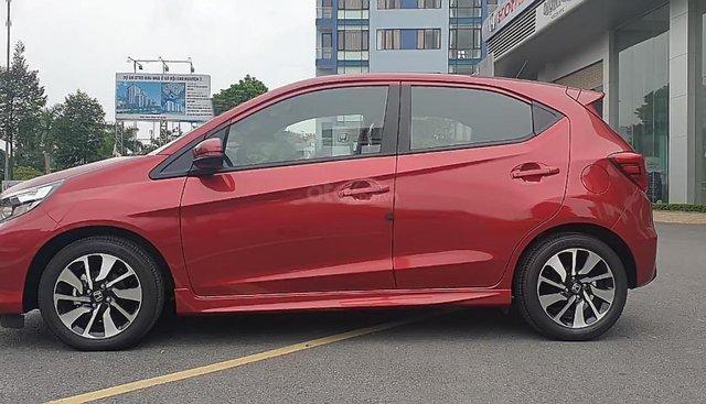 Bán Honda Brio RS 2019, màu đỏ, nhập khẩu nguyên chiếc Indonesia