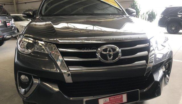 Fortuner X sx 2017, máy xăng số tự động, khách đến xem xe để được giá tốt