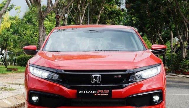 Bán Honda Civic Rs đỏ cao cấp 2019, giá tốt, vay ngân hàng 90%