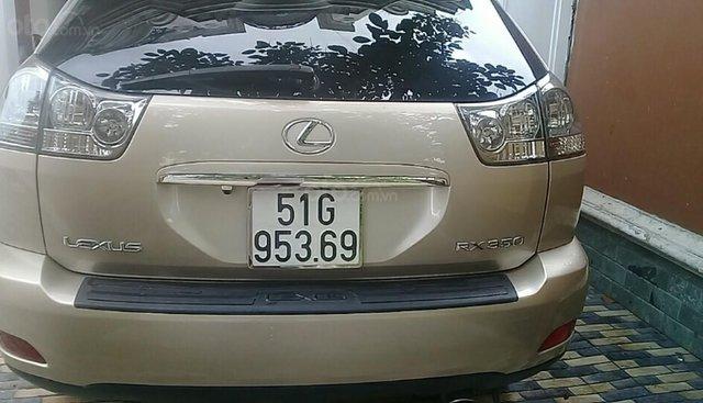 Cần bán xe Lexus RX 350 vàng cát rất đẹp chính chủ bán giá rẻ
