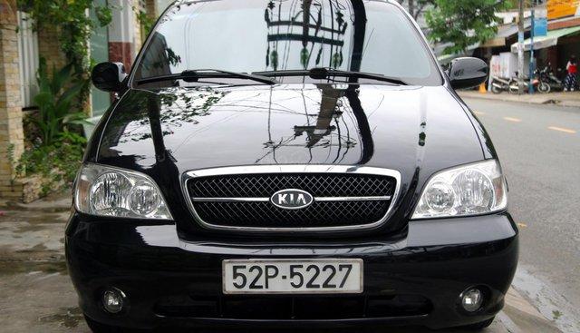 Cần bán Kia Carnival GS sản xuất 2008, màu đen
