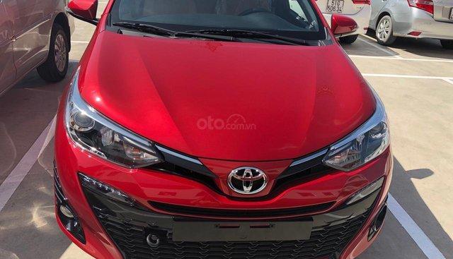 Toyota Yaris 1.5G cao cấp 2019, màu đỏ, xe nhập, giá chỉ 630 triệu khuyến mãi tốt