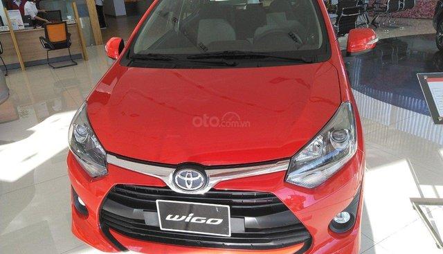 Toyota Wigo 1.2 số sàn sản xuất năm 2019, màu trắng, xe nhập giao ngay