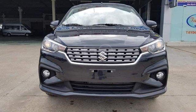 Bán Suzuki Ertiga năm sản xuất 2019, màu đen, xe nhập