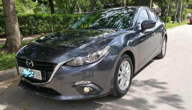 Bán xe Mazda 3 Sedan 2015, màu lông chuột, chính chủ bán