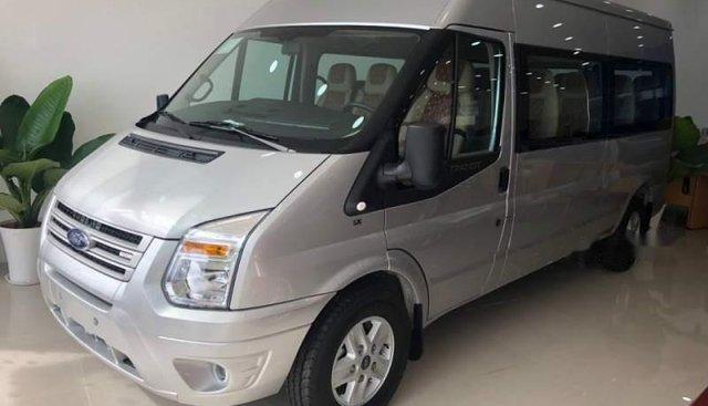 Bán ô tô Ford Transit đời 2019, màu bạc, ưu đãi hấp dẫn