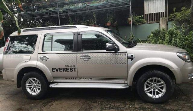 Bán Ford Everest sản xuất năm 2009, màu bạc, nhập khẩu