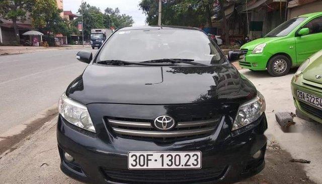 Cần bán gấp Toyota Corolla altis đời 2009, màu đen