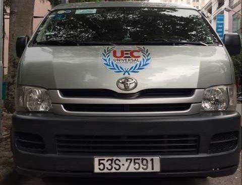 Bán Toyota Hiace đời 2010, màu xanh ngọc