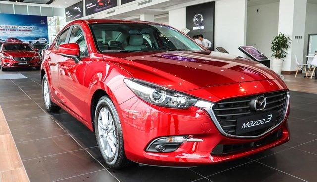 [Mazda Bình Triệu] Bán xe Mazda 3 Sedan 1.5L đỏ pha lê 2019 - hỗ trợ vay lên đến 80%, LH 0903070093