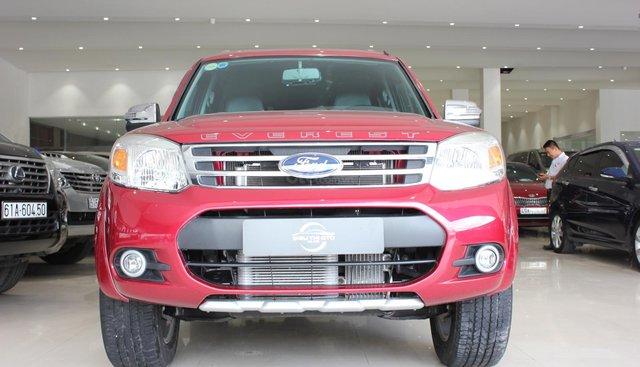 Bán Ford Everest 2014, màu đỏ