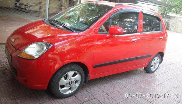 Bán Chevrolet Spark năm 2009, màu đỏ, 136tr