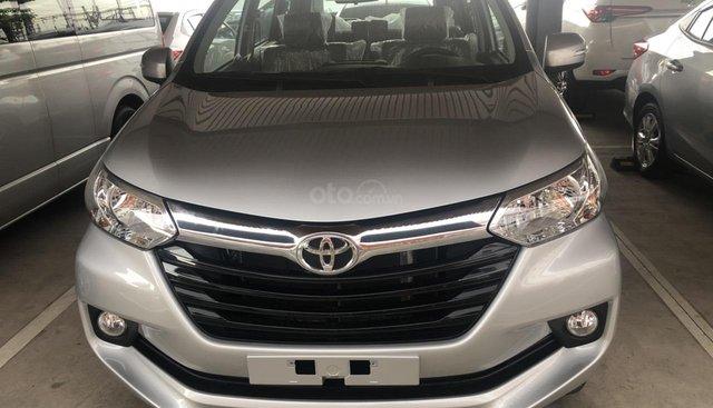Bán Toyota Avanza 1.5 số tự động 2019, màu bạc, xe nhập khẩu 7 chỗ