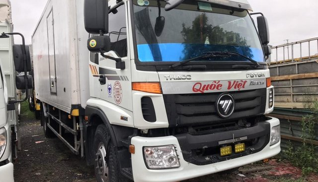 Bán xe tải Auman C160 thùng kín đông lạnh tải 9,3T, đã qua sử dụng liên hệ 0931789959