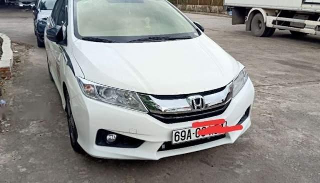 Cần bán lại xe Honda City đời 2015, màu trắng giá cạnh tranh