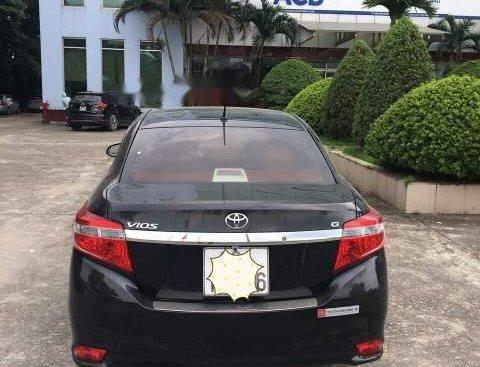 Bán ô tô Toyota Vios sản xuất 2018, màu đen như mới