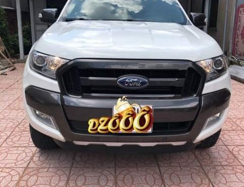 Bán Ford Ranger sản xuất 2016, màu trắng, xe nhập