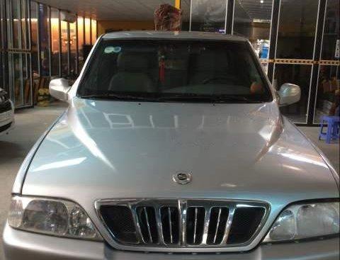 Bán ô tô Ssangyong Musso đời 2001, màu bạc, nhập khẩu nguyên chiếc, xe gia đình, giá tốt