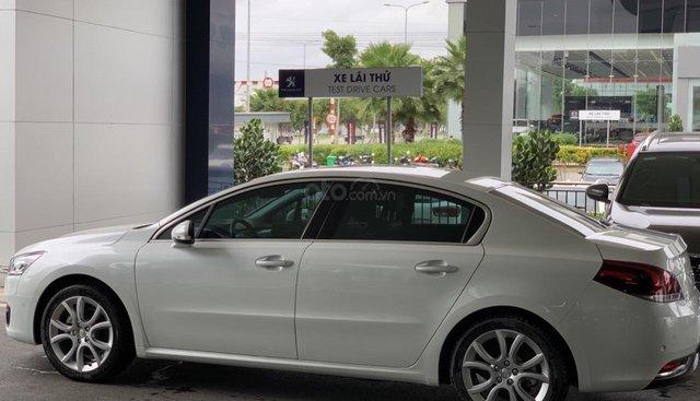 Bán xe Peugeot 508 nhập khẩu Pháp nguyên chiếc, xe Châu Âu doanh nhân, trả trước 390 triệu - nhận xe ngay