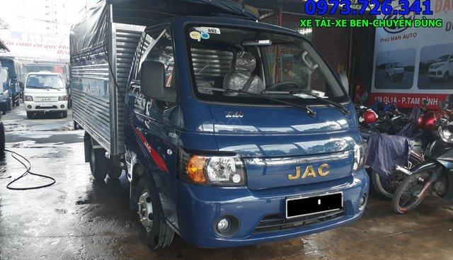 Bán xe tải JAC 990kg, thùng dài 3m2 máy dầu chỉ cần trả trước 40 triệu
