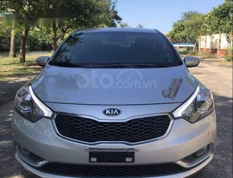 Bán xe cũ Kia K3 1.6MT đời 2015, màu bạc
