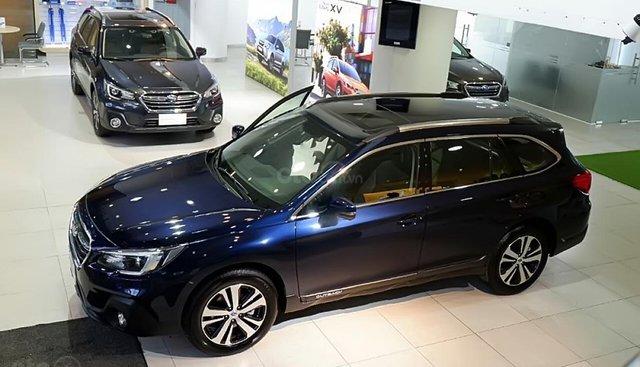 Bán Subaru Outback 2.5i-S năm sản xuất 2018, màu xanh lam, nhập khẩu nguyên chiếc