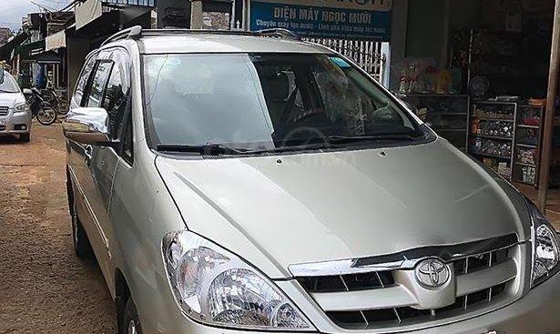Cần bán lại xe Toyota Innova G đời 2006, màu bạc, giá 319tr